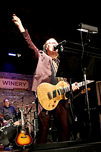 Dave at City Winery Chicago, Nov. 12, 2014
