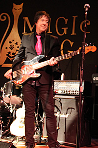 Tom Currier on bass